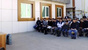 Milletvekili Erdoğan; işçilerle buluştu
