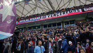Trabzonspor yeni stadında çok başka