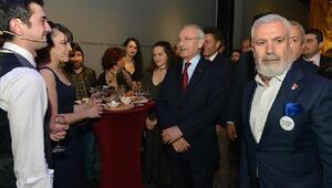 Dünya Tiyatro Günü resepsiyonunda Kılıçdaroğlu sürprizi
