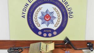 Aydında tarihi eser operasyonu: 3 kişi tutuklandı