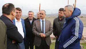 Başkan Aydından kulüplere ziyaret