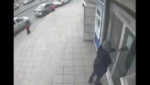 Pendikteki banka soygunu girişiminin görüntüleri ortaya çıktı