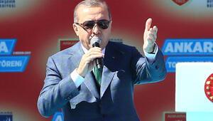 Erdoğan: Evet diyen ne kadar saygınsa hayır diyen de…
