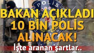 POMEM 10 bin polis alımı başvuruları bugün mü başlayacak İşte POMEM polis alımı şartları