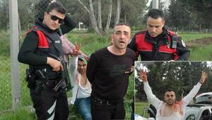Adanada dehşet.. Pompalı tüfekle ateş ettiler, motosikleti yakmaya çalıştılar
