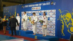 Judo'da  Burcu Aksoy Avrupa 3'ncüsü oldu