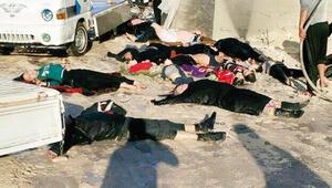Suriye uçakları zehir yağdırdı: Katliam