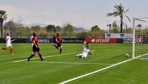 U19 Kadınlar Avrupa Şampiyonası: Türkiye-İngiltere: 0-3