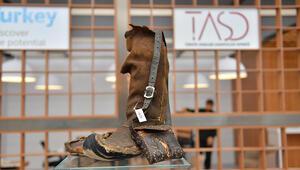 100 yıllık ayakkabı fuarda