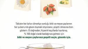 Türkiyede poşetli bitki ve meyve çayları tüketimi 900 milyon poşeti aştı