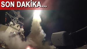 ABD Suriyenin hava üssünü vurdu... İşte ilk görüntüler