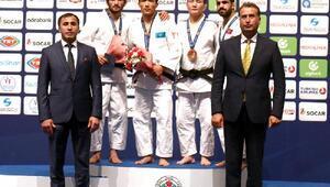 Türkiye, Judo Grand Prixde ilk günü 1 gümüş 1 bronz madalya ile tamamladı