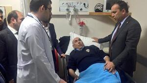 Cumhurbaşkanı Başdanışmanı Topçunun konvoyunda kaza : 2 polis yaralı