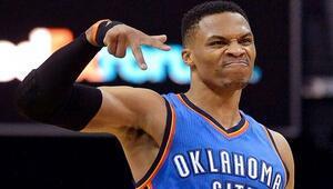 Ve Westbrook tarihe geçti..