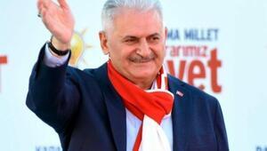 Başbakan Yıldırım İzmirde dört miting daha yapacak