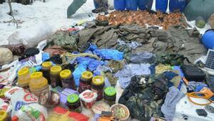Karacehennem Ormanlarındaki sığınakta PKKnın demir sandığı bulundu