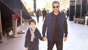 Rafet El Roman oğluyla buluştu