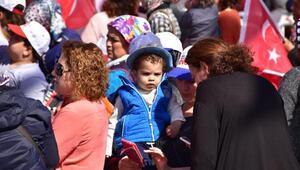 Başbakan Yıldırımdan Kılıçdaroğluna: Senin hayır dediğin anayasayı değiştiriyoruz