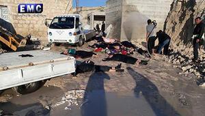Esed rejiminden İdlibte yeni kimyasal katliam