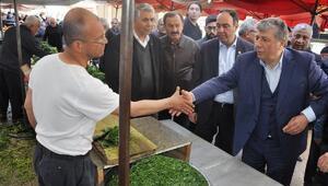 Balbay ve Tümerden Osmaniyede referandum çalışması