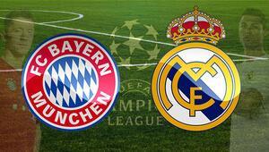 Bayern Münih Real Madrid maçı bu akşam saat kaçta hangi kanalda canlı olarak yayınlanacak - Şampiyonlar Ligi çeyrek final