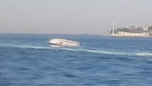 4 askerin şehit olduğu gemi kazasının görüntüleri ortaya çıktı