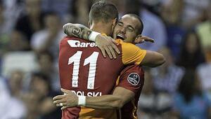 Sneİjder de, Podolski de bize karşı oynar