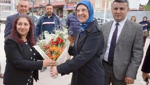 AK Partili Ramazanoğlu Sarıgölde destek istedi