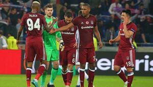 Beşiktaş turu İstanbula bıraktı.. İşte Lyon Beşiktaş maçının özet görüntüleri ve golleri