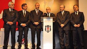 Beşiktaşta yeni divan kurulu başkanı Tevfik Yamantürk