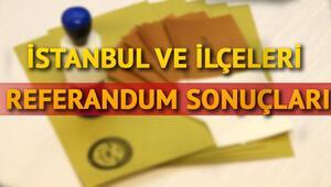 İstanbul ilçeleri referandum sonuçları açıklandı | İstanbul referandum sonuçlarında hangi sonuçlar çıktı