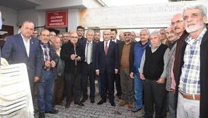 Vali Demirtaş vatandaşla buluştu