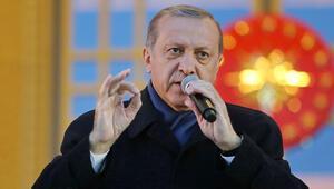 Erdoğan'dan 16 Nisan mesajı: 2019'a işaret fişeği