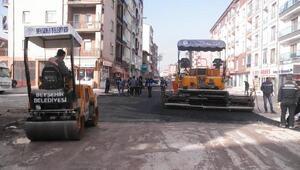 Beyşehir'de yolların standardı yükseltiliyor