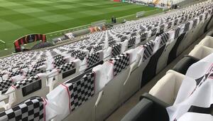 Vodafone Arena dev maça hazır