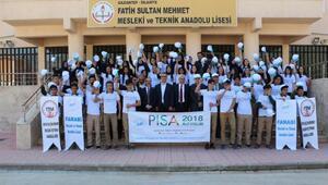 İslahiyede PISA 2018 Pilot Uygulama Sınavı