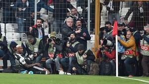 İşte Beşiktaş - Lyon maçının fotoğrafları...
