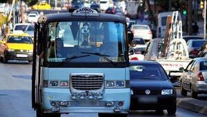 İstanbuldaki minibüslerde yeni dönem