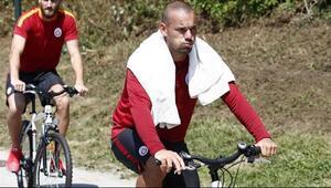 Sneijder derbi için 2 kilo verdi