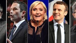 Fransada cumhurbaşkanı adayları ve vaatleri