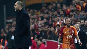 Tudor 10u ne yapacak Sneijder Fenerbahçeye karşı...
