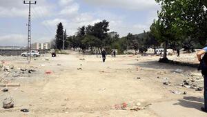 Gaziantep'te pazar alanında bomba ihbarı