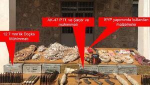 Şemdinlide PKK sığınakları imha edildi