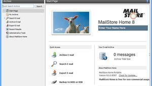 MailStore 10.0.1 : Tüm e-postalarınızı yedekleyin