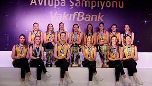 Avrupa Şampiyonu VakıfBanktan gövde gösterisi