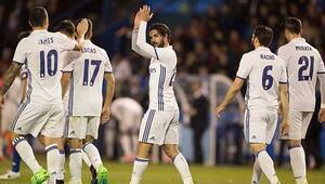 Real Madridden Deportivoya yarım düzine gol