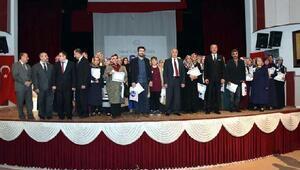 Aile Okulu eğitimini tamamlayan kursiyerlere sertifika