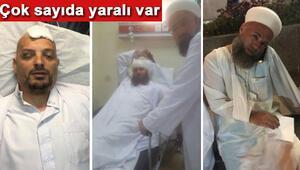 Türk cemaatleri Umrede birbirine girdi