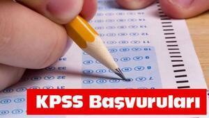 KPSS başvurusu için son gün ne zaman Başvuru nasıl yapılır