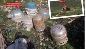 Diyarbakırın ilçelerinde bulunan patlayıcılar imha edildi